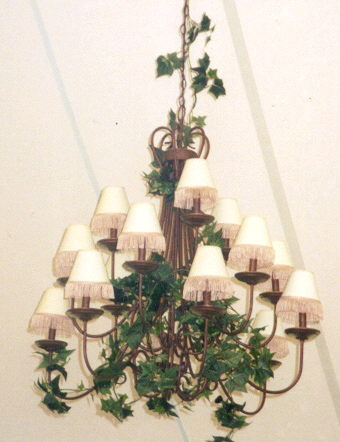 Where to rent IVORY CHANDELIER SHADES - SET of 15 in State College, Altoona and all of Central Pennsylvania