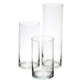 Where to rent LARGE CYLINDER VASE, GLASS - 11  TALL in State College PA