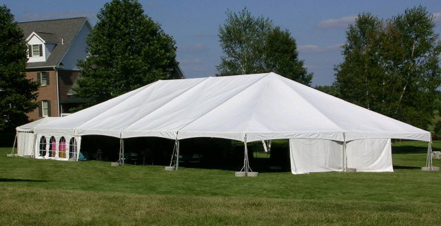 Where to rent TWIN TUBE FRAME TENT, 40  X 40  WHITE in State College, Altoona and all of Central Pennsylvania