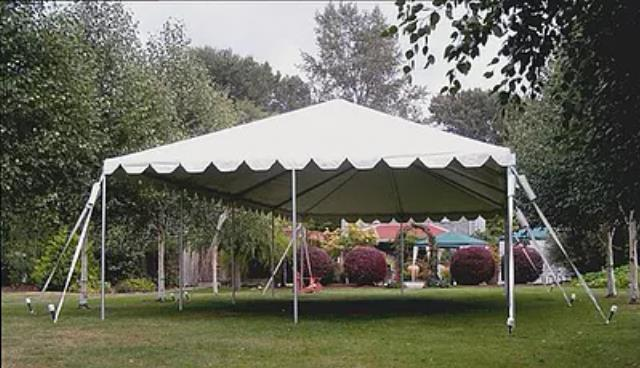 Where to rent FRAME TENT, 30  X 30 , WHITE in State College PA, Altoona PA and surrounding metro areas