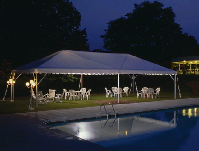 Where to find TWIN TUBE FRAME TENT, 20  X 90  WHITE in State College