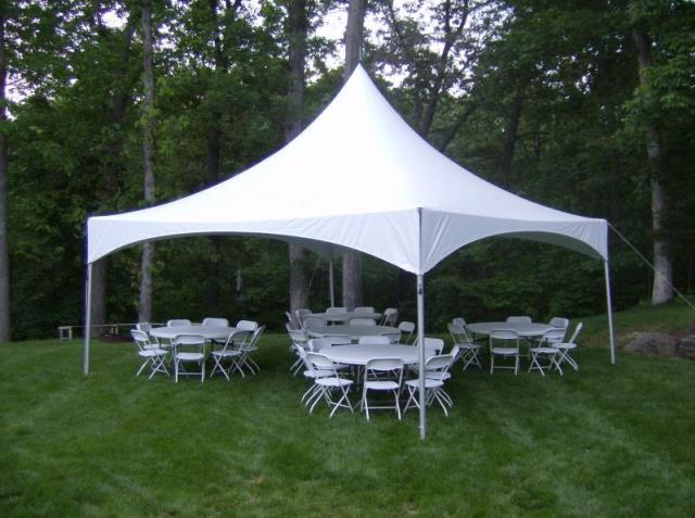 Where to rent HI-PEAK TENT, 20  X 20  WHITE in State College, Altoona and all of Central Pennsylvania