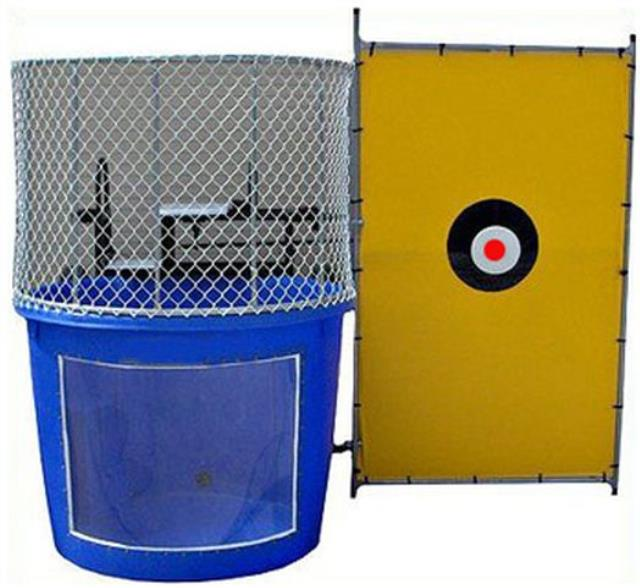 Where to rent DUNK TANK in State College, Altoona and all of Central Pennsylvania
