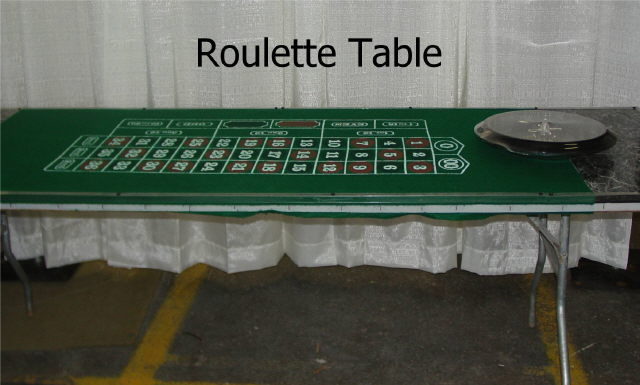 Where to rent ROULETTE TABLE - 8  LONG in State College, Altoona and all of Central Pennsylvania