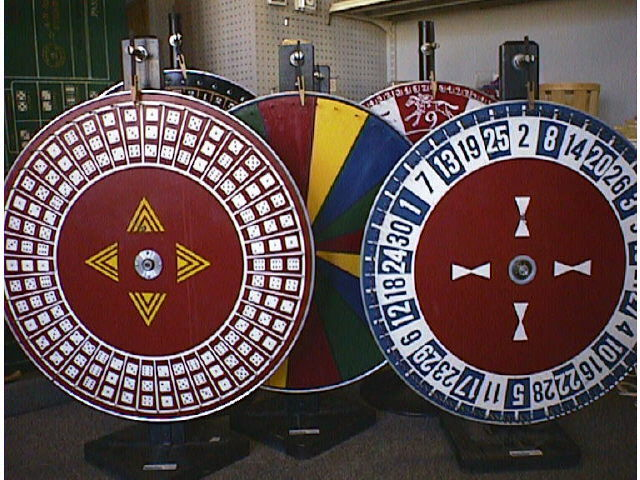 Where to rent WHEEL of CHANCE, CHUCK-A-LUCK  dice in State College, Altoona and all of Central Pennsylvania