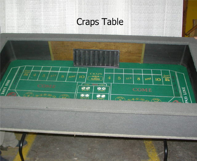 Where to rent CRAPS TABLE in State College, Altoona and all of Central Pennsylvania
