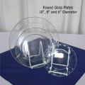 Rental store for GLASS SALAD PLATE, 8  - UNIT OF 10 in State College PA