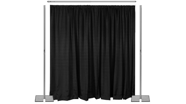 Where to rent PIPE   DRAPE DIVIDER, 7  H - PER FT in State College, Altoona and all of Central Pennsylvania