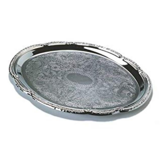 Where to rent TRAY, CHROME 13  X 18  OVAL in State College, Altoona and all of Central Pennsylvania