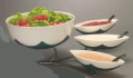 Where to rent TRAY STAND 4-TIER BOWL W SIDES - WHT in State College PA