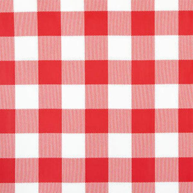 Where to rent RED-WHITE CHECK TCLOTH - 120  ROUND POLY in State College, Altoona and all of Central Pennsylvania