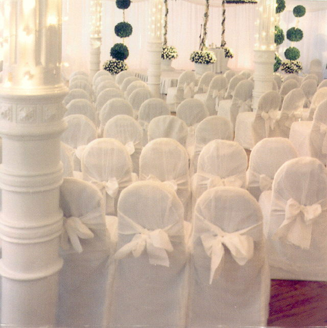 Where to rent CHAIR SASH - WHITE POLY in State College, Altoona and all of Central Pennsylvania