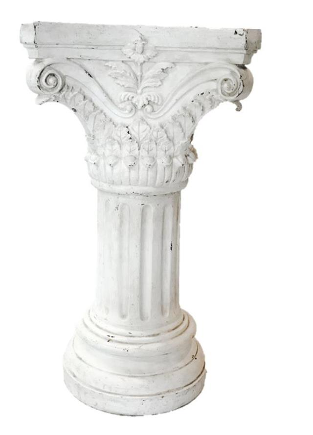 Where to find COLUMN, IVORY - 54  ORNATE  DISTRESSED in State College