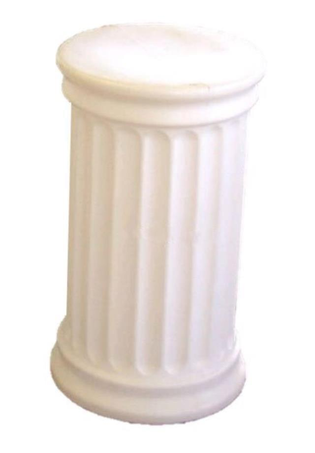 Where to find COLUMN, WHITE - 24  POLY, ROUND TOP in State College