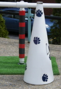 Rental store for WHITE MEGAPHONE WITH PAW PRINTS in State College PA