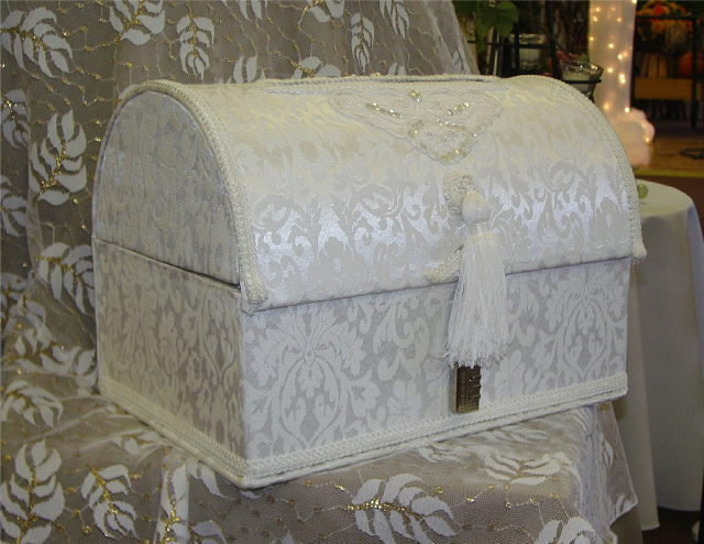 Where to rent CARD CHEST - WHITE DAMASK in State College, Altoona and all of Central Pennsylvania