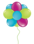 Rental store for DOUBLE BALLOON TOPIARY - 16 BALLOONS in State College PA