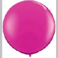 Rental store for 3  LATEX BALLOON - HOT PINK, INFLATED in State College PA