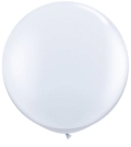 Rental store for 3  LATEX BALLOON - WHITE, INFLATED in State College PA