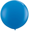 Rental store for 3  LATEX BALLOON - BLUE, INFLATED in State College PA