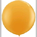 Rental store for 3  LATEX BALLOON - ORANGE, INFLATED in State College PA