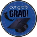 Rental store for CONGRATS GRAD 7  PLATE - BLUE in State College PA