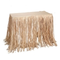 Where to rent RAFFIA TABLE SKIRT, 9 in State College PA