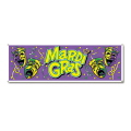 Rental store for JUMBO MARDI GRAS BANNER in State College PA