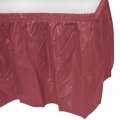 Rental store for PLASTIC SKIRT-BURGUNDY 14 in State College PA