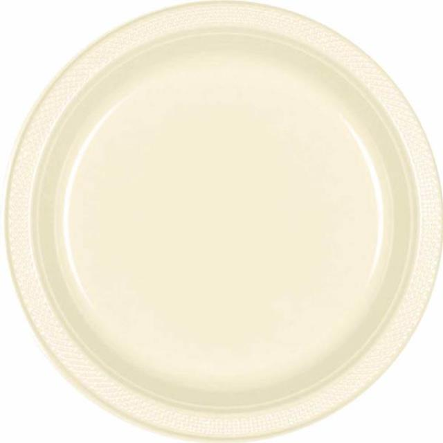 Where to find PLASTIC 10  PLATE-IVORY - 20 CT in State College