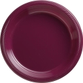 Rental store for PLASTIC 10  PLATE-BURGUNDY - 20 CT in State College PA