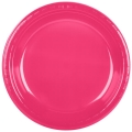 Rental store for PLASTIC 7  PLATE- HOT MAGENTA - 20 CT in State College PA