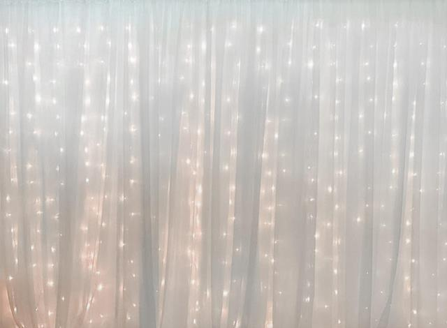 Where to rent SATIN BACKDROP W LIGHTS - 16  long in State College, Altoona and all of Central Pennsylvania
