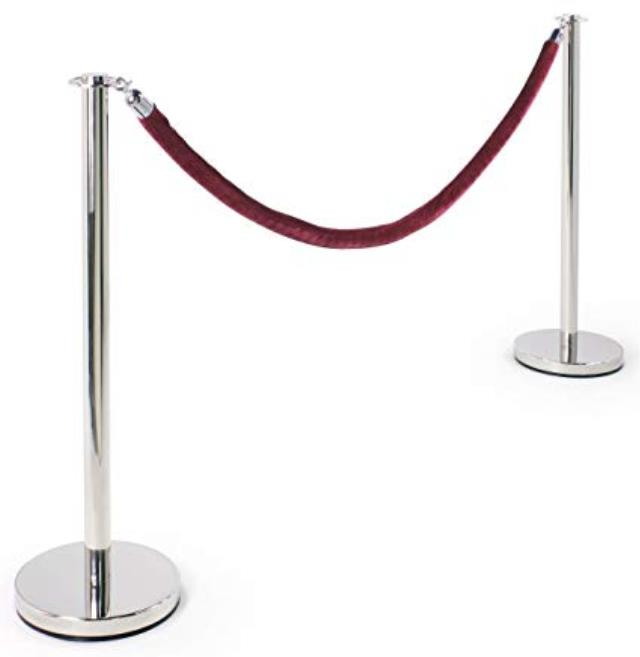 Where to find STANCHION ROPE, 5  - RED VELVET in State College