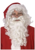 Rental store for SANTA WIG   BEARD SET, DELUXE in State College PA