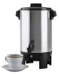 Rental store for COFFEE MAKER, 30 CUP STAINLESS STEEL in State College PA