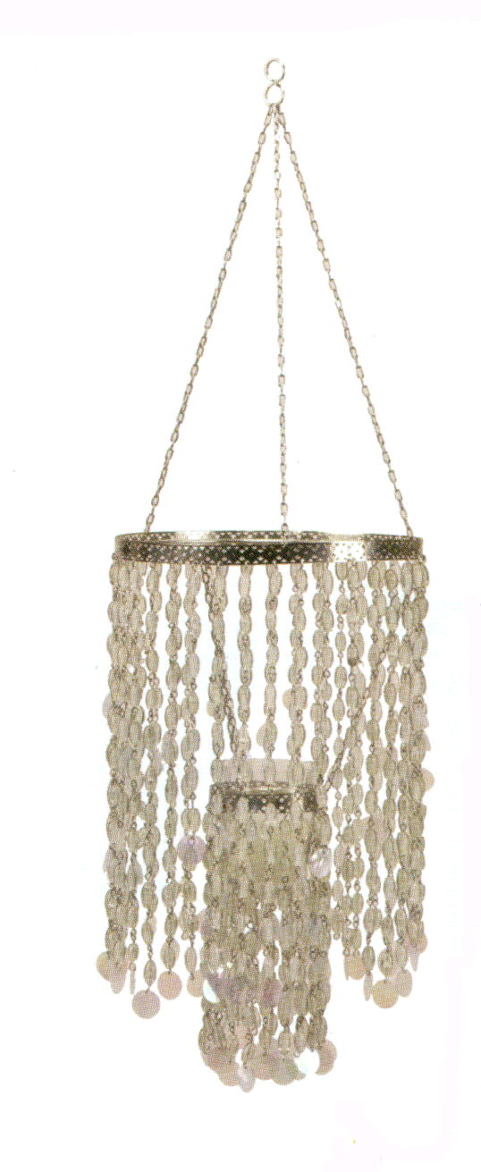 Where to rent BEADED CHANDELIER, w  VOTIVE HOLDER in State College, Altoona and all of Central Pennsylvania