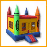 Where to rent CRAYON BOUNCE HOUSE in State College, Altoona and all of Central Pennsylvania