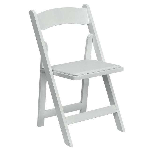 Where to rent WHITE WOOD  STYLE  CHAIR - PADDED in State College, Altoona and all of Central Pennsylvania