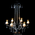 Rental store for CRYSTAL TABLE CHANDELIER - 26  TALL in State College PA