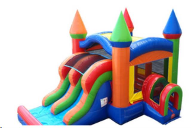 Where to rent BOUNCE HOUSE - DUAL SLIDE COMBO in State College, Altoona and all of Central Pennsylvania