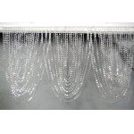 Where to rent BEADED SWAG CURTAIN, 3  X 20 in State College, Altoona and all of Central Pennsylvania