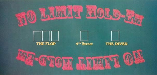 Where to find FELT TEXAS HOLD-EM LAYOUT in State College