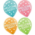 Rental store for WELCOME BABY, LATEX BALLOONS - 20 PK in State College PA