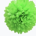 Rental store for 16  FLUFFY DECORATIONS, GREEN - 3 PKG in State College PA