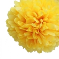 Rental store for 16  FLUFFY DECORATIONS, YELLOW - 3 PKG in State College PA