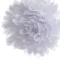 Rental store for 16  FLUFFY DECORATIONS, WHITE - 3 PKG in State College PA