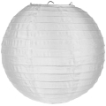 Rental store for ROUND PAPER LANTERNS, WHITE - 3 PKG in State College PA