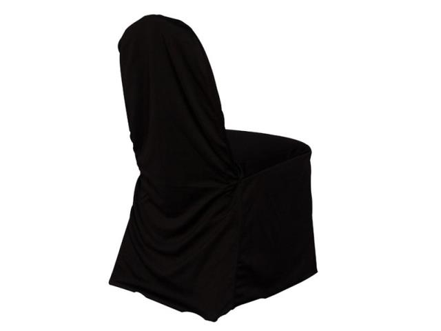 Where to find BALLROOM CHAIR COVER - BLACK in State College