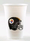 Rental store for PLASTIC CUPS, STEELERS - 24 COUNT in State College PA